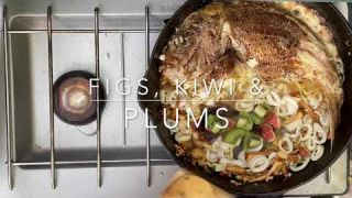 M & K TV Camping for Life EPS#11 Snapper Over Calamari Coconut Beer Broth
